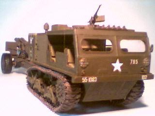 M4 Tractor - Nitto + Lagartas M36 - Tamiya