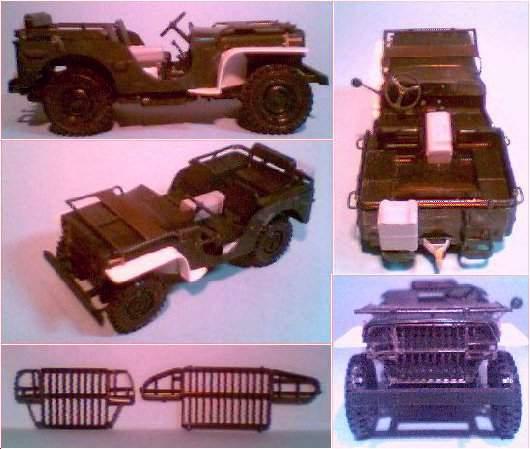 Ford GP - Detalhes da Construção