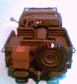 Ford GP -  Traseira
